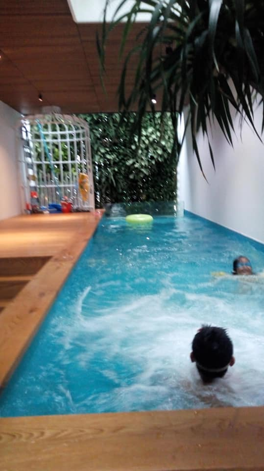 hồ bơi văn phòng mẫu
