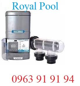 Máy điện phân muối Waterco 25A LCD