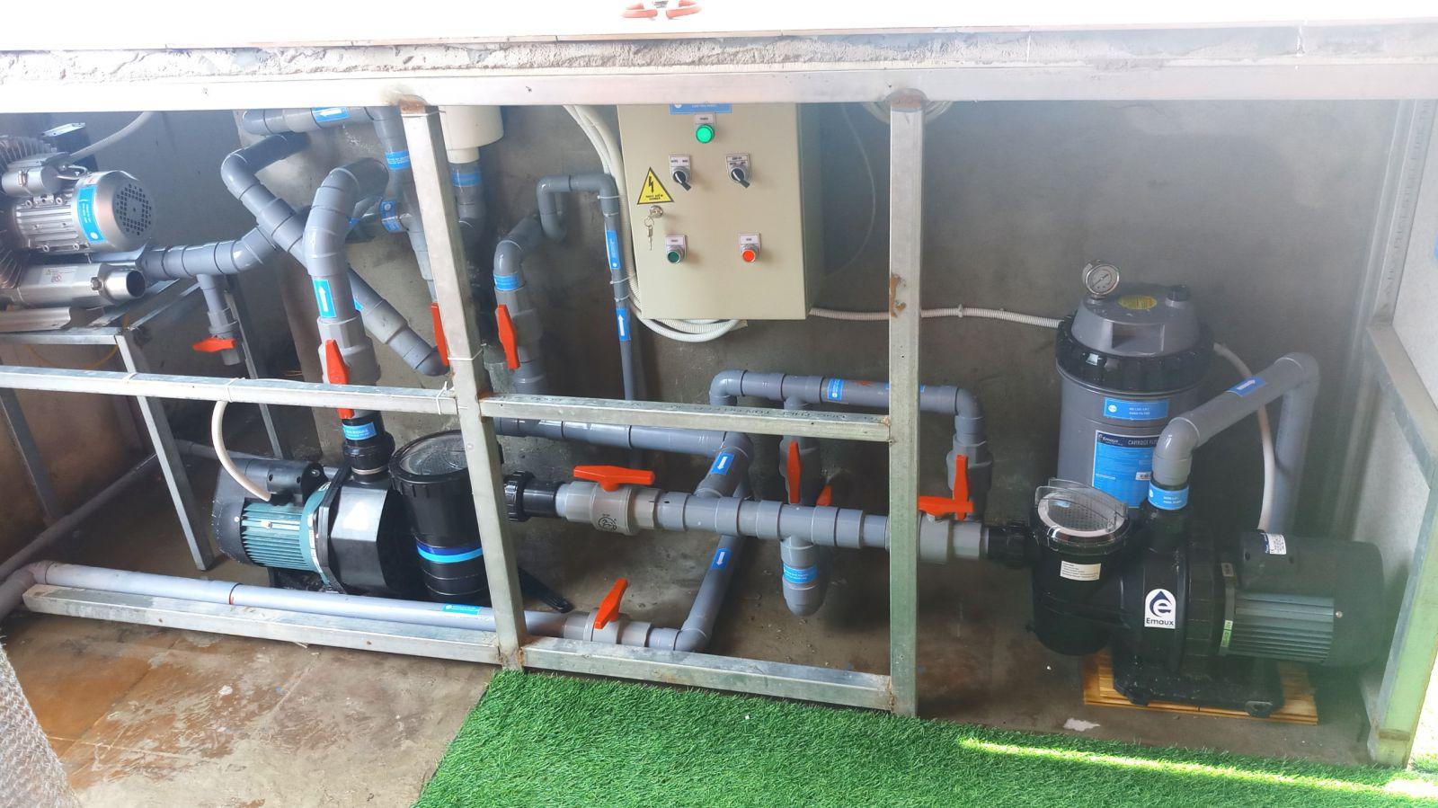 thiết bị hồ bơi tại Huế